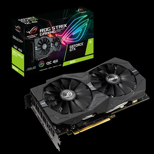 nvidia geforce asus 1650